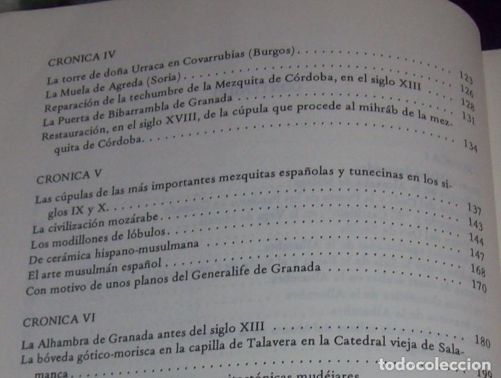Libros de segunda mano: OBRA DISPERSA I : AL-ANDALÚS. CRÓNICA ARQUEOLÓGICA DE LA ESPAÑA MUSULMANA,1. LEOPOLDO TORRES. 1981. - Foto 8 - 121733679