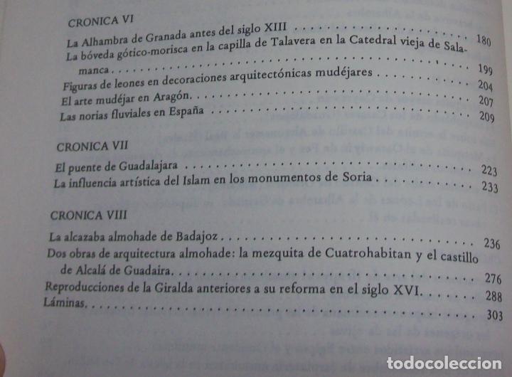Libros de segunda mano: OBRA DISPERSA I : AL-ANDALÚS. CRÓNICA ARQUEOLÓGICA DE LA ESPAÑA MUSULMANA,1. LEOPOLDO TORRES. 1981. - Foto 9 - 121733679