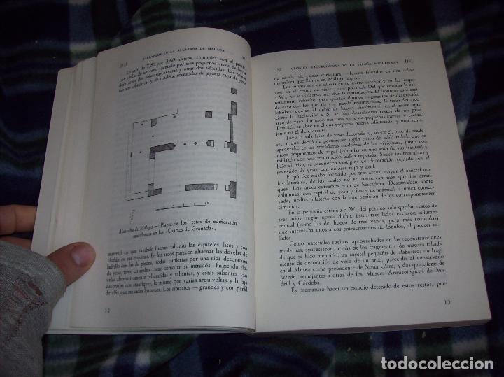 Libros de segunda mano: OBRA DISPERSA I : AL-ANDALÚS. CRÓNICA ARQUEOLÓGICA DE LA ESPAÑA MUSULMANA,1. LEOPOLDO TORRES. 1981. - Foto 10 - 121733679
