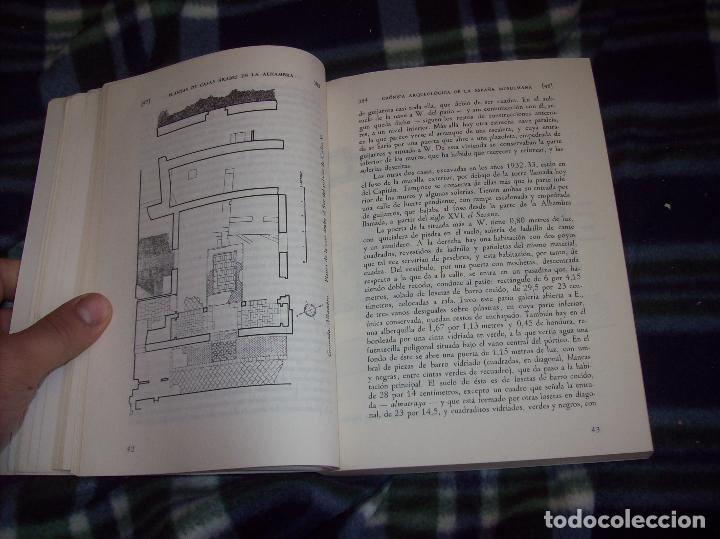 Libros de segunda mano: OBRA DISPERSA I : AL-ANDALÚS. CRÓNICA ARQUEOLÓGICA DE LA ESPAÑA MUSULMANA,1. LEOPOLDO TORRES. 1981. - Foto 12 - 121733679