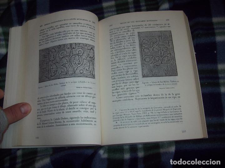 Libros de segunda mano: OBRA DISPERSA I : AL-ANDALÚS. CRÓNICA ARQUEOLÓGICA DE LA ESPAÑA MUSULMANA,1. LEOPOLDO TORRES. 1981. - Foto 19 - 121733679