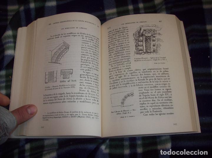 Libros de segunda mano: OBRA DISPERSA I : AL-ANDALÚS. CRÓNICA ARQUEOLÓGICA DE LA ESPAÑA MUSULMANA,1. LEOPOLDO TORRES. 1981. - Foto 21 - 121733679