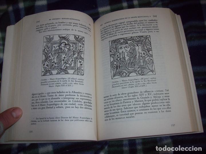 Libros de segunda mano: OBRA DISPERSA I : AL-ANDALÚS. CRÓNICA ARQUEOLÓGICA DE LA ESPAÑA MUSULMANA,1. LEOPOLDO TORRES. 1981. - Foto 22 - 121733679