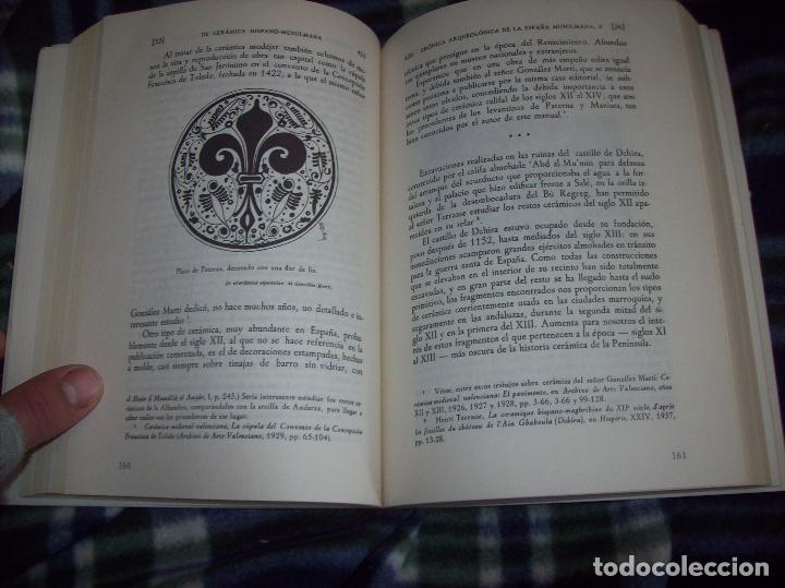 Libros de segunda mano: OBRA DISPERSA I : AL-ANDALÚS. CRÓNICA ARQUEOLÓGICA DE LA ESPAÑA MUSULMANA,1. LEOPOLDO TORRES. 1981. - Foto 23 - 121733679