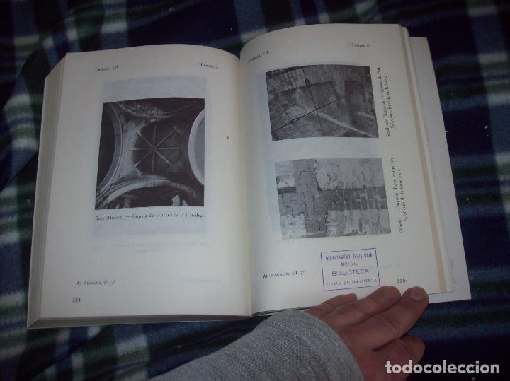 Libros de segunda mano: OBRA DISPERSA I : AL-ANDALÚS. CRÓNICA ARQUEOLÓGICA DE LA ESPAÑA MUSULMANA,1. LEOPOLDO TORRES. 1981. - Foto 33 - 121733679