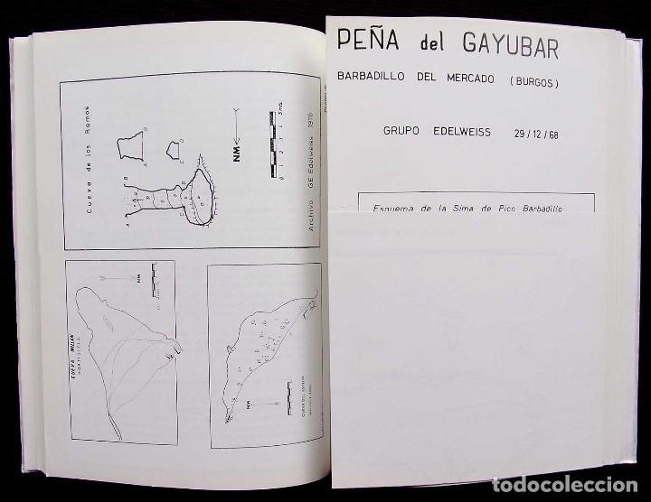 Libros de segunda mano: KAITE. BURGOS. Nº 1. AÑO: 1978. ESTUDIOS DE ESPELEOLOGÍA BURGALESA. ATAPUERCA. OJO GUAREÑA. - Foto 6 - 173631222