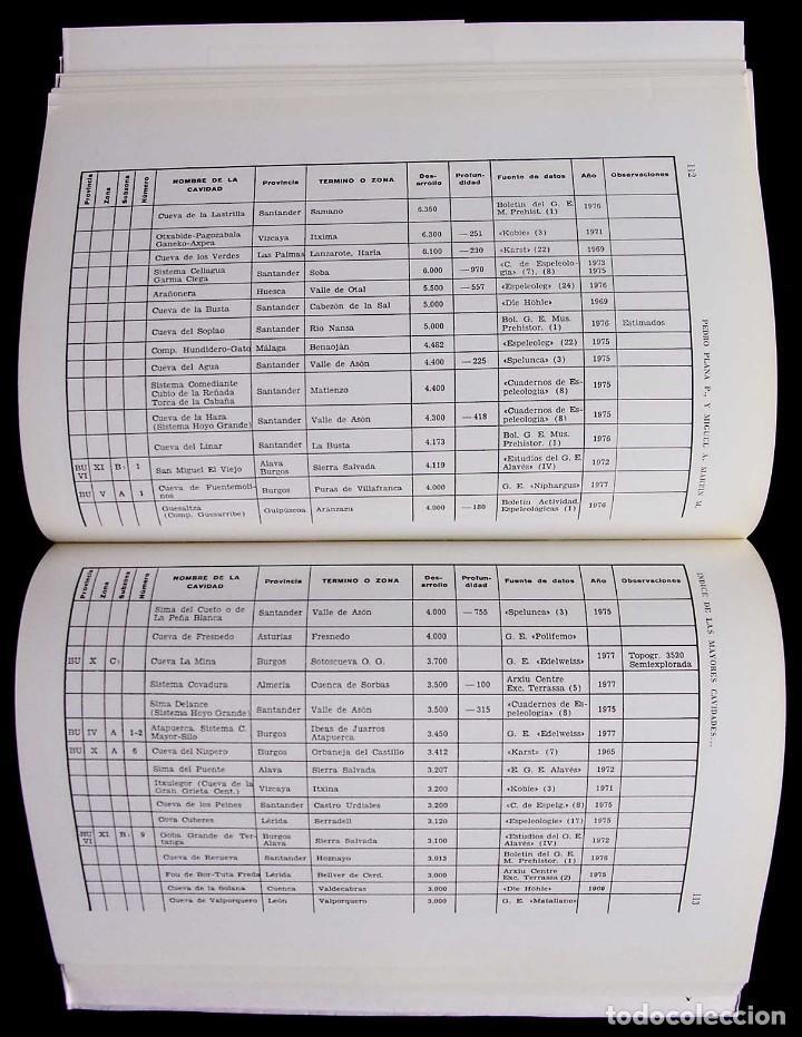 Libros de segunda mano: KAITE. BURGOS. Nº 1. AÑO: 1978. ESTUDIOS DE ESPELEOLOGÍA BURGALESA. ATAPUERCA. OJO GUAREÑA. - Foto 9 - 173631222