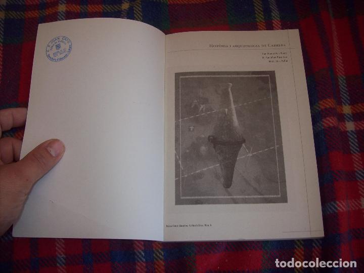 Libros de segunda mano: HISTÒRIA I ARQUEOLOGIA DE CABRERA / HISTORIA Y ARQUEOLOGÍA DE CABRERA. AJUNTAMENT DE PALMA.2001 - Foto 3 - 123283951