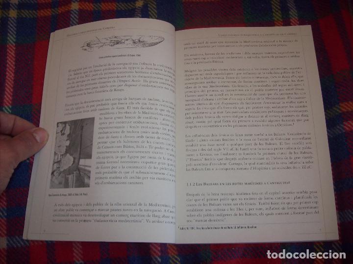 Libros de segunda mano: HISTÒRIA I ARQUEOLOGIA DE CABRERA / HISTORIA Y ARQUEOLOGÍA DE CABRERA. AJUNTAMENT DE PALMA.2001 - Foto 10 - 123283951