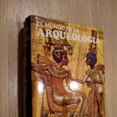 Libros de segunda mano: C.W. CERAM. EL MUNDO DE LA ARQUEOLOGÍA. DESTINO. 1974. Lote 124575043