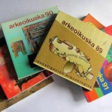 Libros de segunda mano: ARKEOIKUSKA 89-90-91-92-93-94, INVESTIGACION ARQUEOLOGICA , ED GOB.VASCO. EUSKARA-ESPAÑOL-INGLES. 6. Lote 125328439