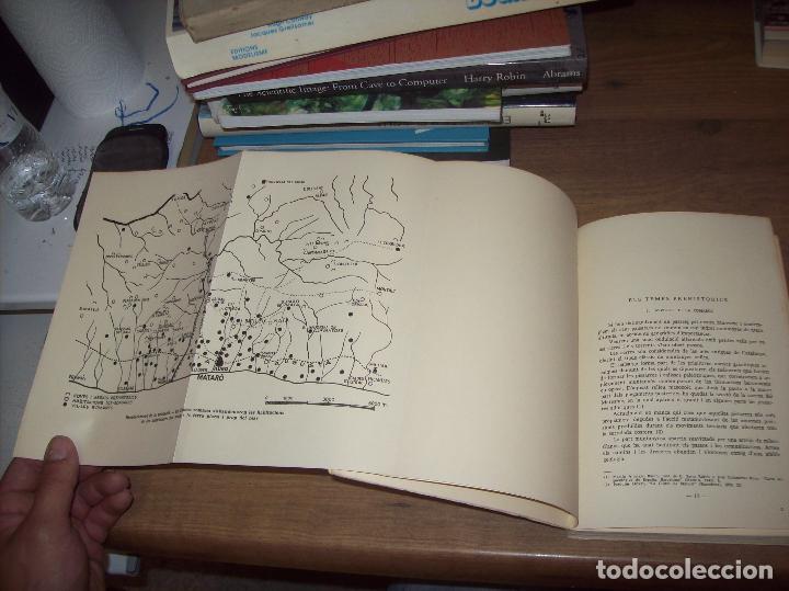 Libros de segunda mano: ELS ORÍGENS DE MATARÓ. MARIÀ RIBAS I BERTRAN. CAIXA DESTALVIS DE MATARÓ. 1964. UNA JOIA!!!!. - Foto 4 - 125351411