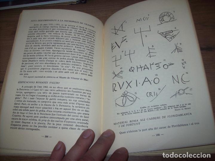 Libros de segunda mano: ELS ORÍGENS DE MATARÓ. MARIÀ RIBAS I BERTRAN. CAIXA DESTALVIS DE MATARÓ. 1964. UNA JOIA!!!!. - Foto 15 - 125351411