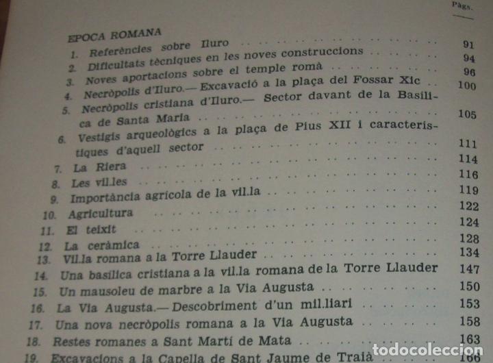 Libros de segunda mano: ELS ORÍGENS DE MATARÓ. MARIÀ RIBAS I BERTRAN. CAIXA DESTALVIS DE MATARÓ. 1964. UNA JOIA!!!!. - Foto 30 - 125351411