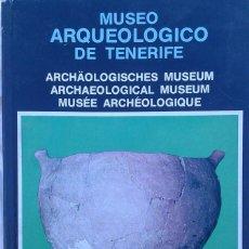 Libros de segunda mano: LUIS DIEGO CUSCOY - MUSEO ARQUEOLOGICO DE TENERIFE - CON FOTOS - CANARIAS - ED. 1973. Lote 125436499