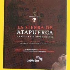 Libros de segunda mano: LA SIERRA DE ATAPUERCA - EQUIPO INVESTIGADOR DE ATAPUERCA - UNA JOYA. Lote 126032323