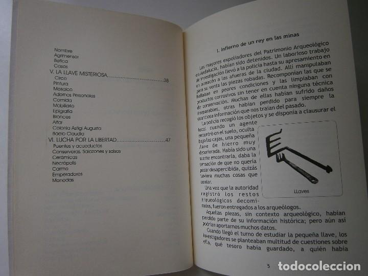Libros de segunda mano: IMPERATOR EL REY DE LOS ESCLAVOS LIBRES Arqueologia Romana en Andalucia Eloisa Caro Duran 2004 - Foto 7 - 128941103