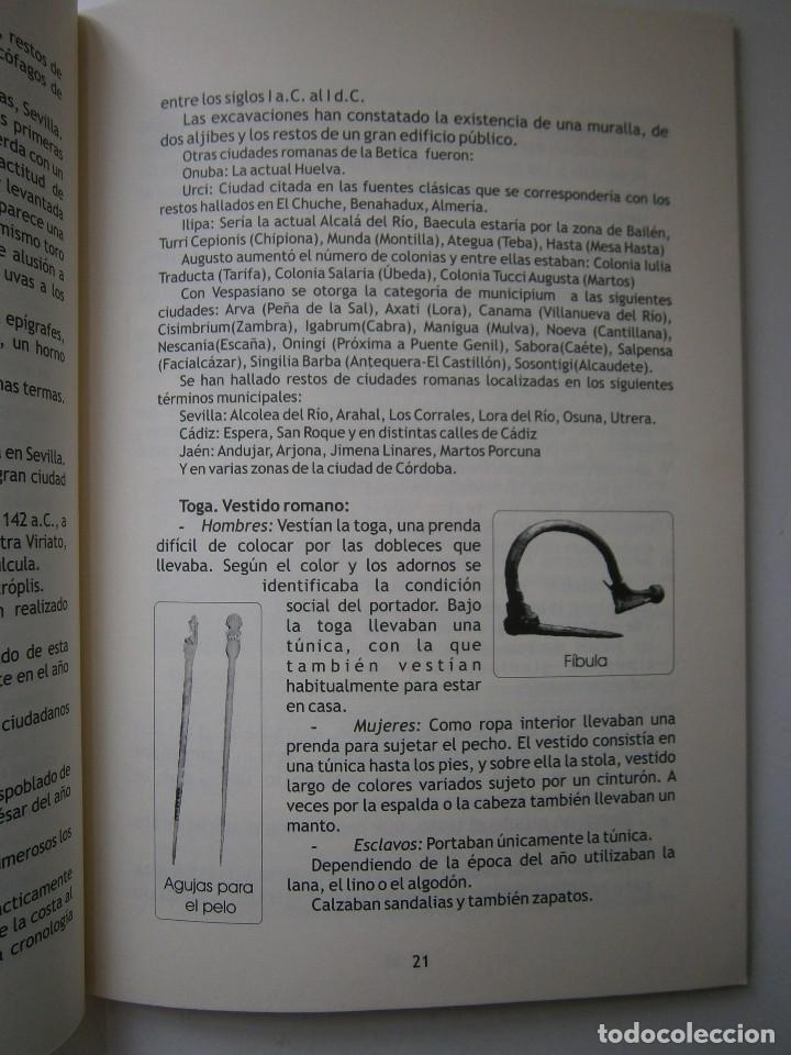Libros de segunda mano: IMPERATOR EL REY DE LOS ESCLAVOS LIBRES Arqueologia Romana en Andalucia Eloisa Caro Duran 2004 - Foto 9 - 128941103