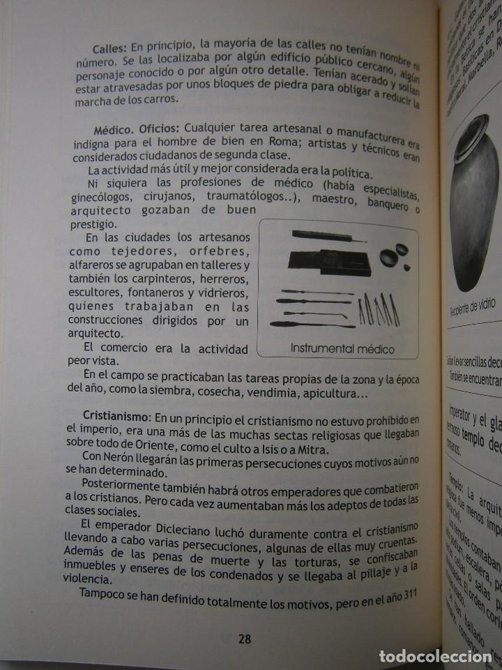 Libros de segunda mano: IMPERATOR EL REY DE LOS ESCLAVOS LIBRES Arqueologia Romana en Andalucia Eloisa Caro Duran 2004 - Foto 11 - 128941103