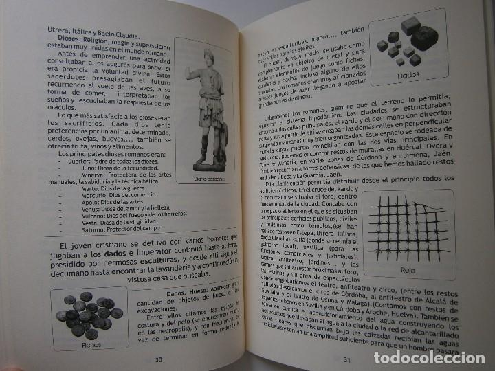 Libros de segunda mano: IMPERATOR EL REY DE LOS ESCLAVOS LIBRES Arqueologia Romana en Andalucia Eloisa Caro Duran 2004 - Foto 12 - 128941103