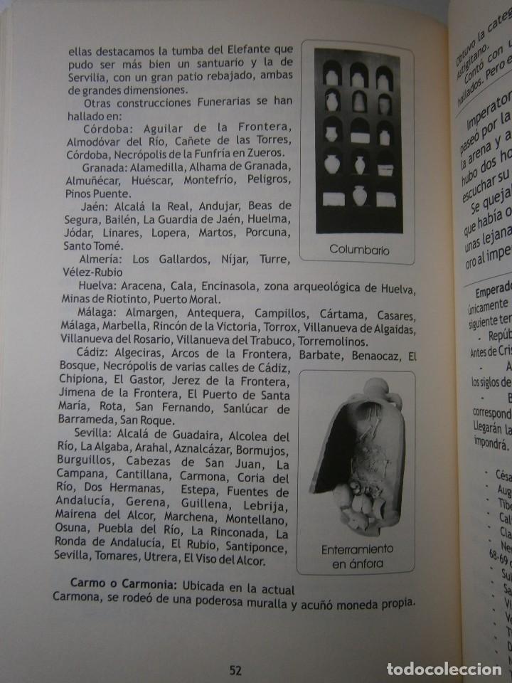 Libros de segunda mano: IMPERATOR EL REY DE LOS ESCLAVOS LIBRES Arqueologia Romana en Andalucia Eloisa Caro Duran 2004 - Foto 16 - 128941103