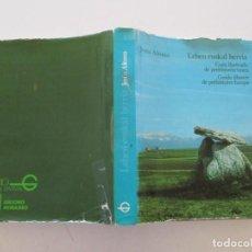 Libros de segunda mano: LEHEN EUSKAL HERRIA.GUÍA ILUSTRADA DE PREHISTORIA VASCA.GUIDE ILLUSTRÉ DE PRÉHISTOIRE BASQUE.RM87283. Lote 129544523