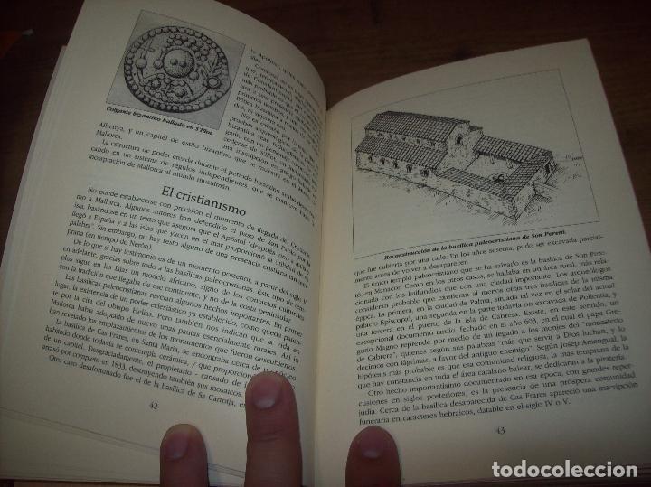 Libros de segunda mano: GUÍA ARQUEOLÓGICA DE MALLORCA. JAVIER ARAMBURU - CARLOS GARRIDO - VICENÇ SASTRE. 1994. - Foto 8 - 130289970