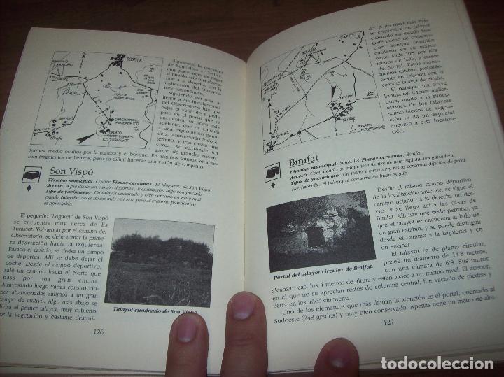 Libros de segunda mano: GUÍA ARQUEOLÓGICA DE MALLORCA. JAVIER ARAMBURU - CARLOS GARRIDO - VICENÇ SASTRE. 1994. - Foto 11 - 130289970