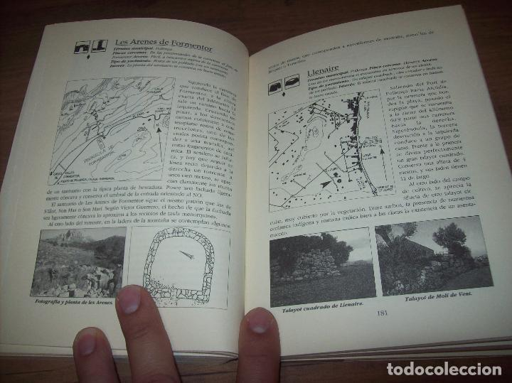 Libros de segunda mano: GUÍA ARQUEOLÓGICA DE MALLORCA. JAVIER ARAMBURU - CARLOS GARRIDO - VICENÇ SASTRE. 1994. - Foto 12 - 130289970