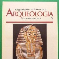 Libros de segunda mano: LOS GRANDES DESCUBRIMIENTOS DE LA ARQUEOLOGÍA - FASCÍCULO 51 - PLANETA AGOSTINI - 1992. Lote 131189384