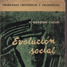 Libros de segunda mano: EVOLUCIÓN SOCIAL. Lote 133267454
