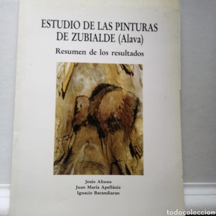 ESTUDIOS DE LAS PINTURAS DE ZUBIALDE (ALAVA). JESUS ALTUNA. JUAN M. APELLANIZ. IGNACIO BARANDIARAN. (Libros de Segunda Mano - Ciencias, Manuales y Oficios - Arqueología)