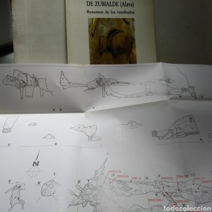 Libros de segunda mano: ESTUDIOS DE LAS PINTURAS DE ZUBIALDE (ALAVA). JESUS ALTUNA. JUAN M. APELLANIZ. IGNACIO BARANDIARAN. - Foto 2 - 134177143