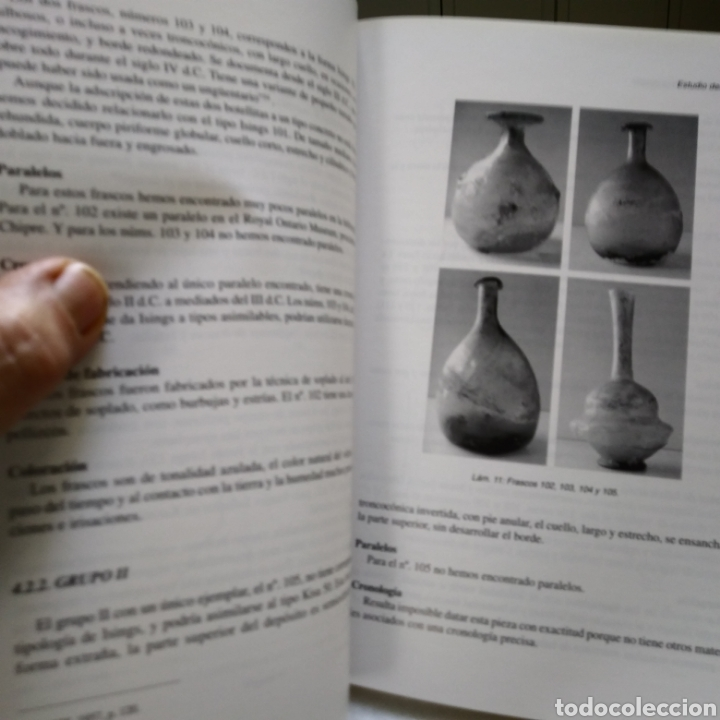 Libros de segunda mano: EL VIDRIO ROMANO DE CORDOBA. M. ELENA SALINAS PLEGUEZUELO. UNIVERSIDAD DE CORDOBA. 2003. - Foto 3 - 134182177