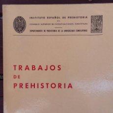 Libros de segunda mano: TRABAJOS DE PREHISTORIA VOL 32 CSIC. Lote 134392274
