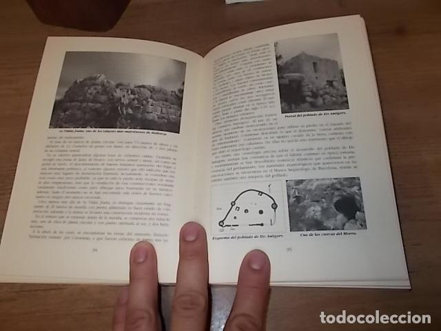 Libros de segunda mano: GUÍA ARQUEOLÓGICA DE MALLORCA. JAVIER ARAMBURU - CARLOS GARRIDO - VICENÇ SASTRE. 1994. - Foto 10 - 136183217