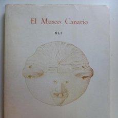 Livros em segunda mão: EL MUSEO CANARIO. XLI. 1980. 1981. Lote 135672311