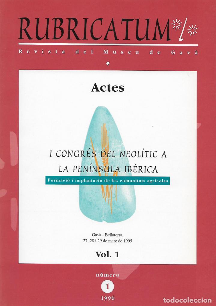 RUBRICATUM. Nº 1. VOL 1. MUSEU DE GAVÀ. BAIX LLOBREGAT. CATALUNYA. ANTIGÜEDAD (Libros de Segunda Mano - Ciencias, Manuales y Oficios - Arqueología)