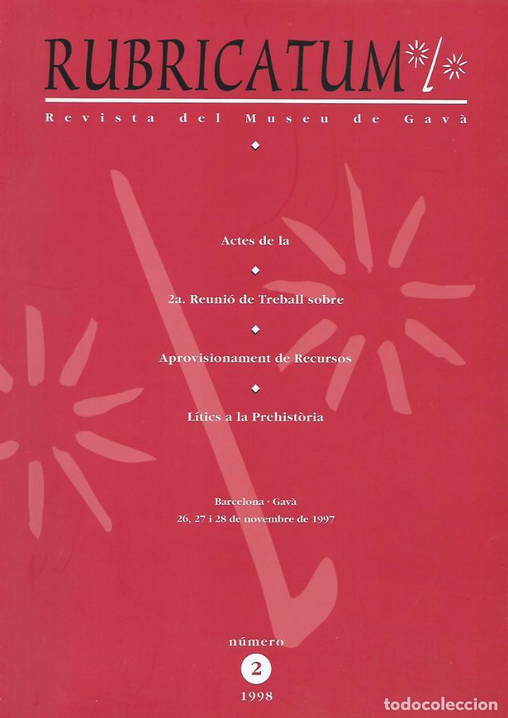 RUBRICATUM. Nº 2. MUSEU DE GAVÀ. BAIX LLOBREGAT. CATALUNYA. ANTIGÜEDAD (Libros de Segunda Mano - Ciencias, Manuales y Oficios - Arqueología)