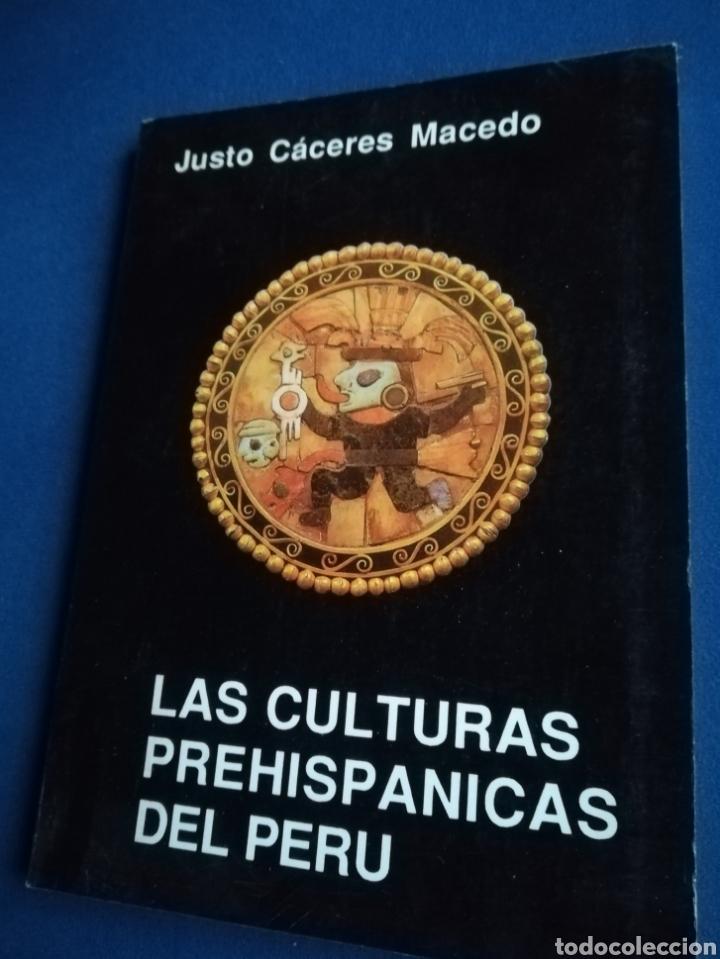 LAS CULTURAS PREHISPÁNICAS DEL PERÚ. JUSTO CÁCERES MACEDO, 1994 (Libros de Segunda Mano - Ciencias, Manuales y Oficios - Arqueología)
