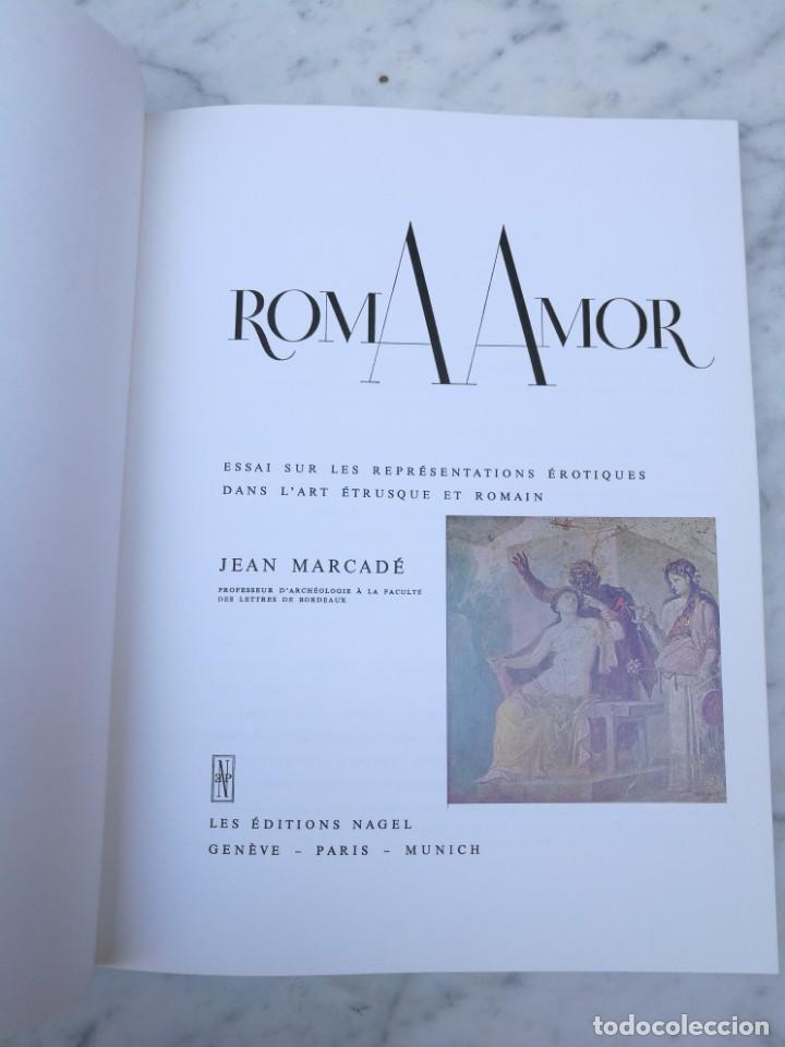 Libros de segunda mano: Roma Amor de Jean Mercader 1968 representaciones eroticas - Foto 2 - 139822434