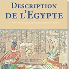 Libros de segunda mano: DESCRIPTION DE L'EGYPTE: PUBLIEE PAR LES ORDRES DE NAPOLEON BONAPARTE (KLOTZ).. Lote 143664558