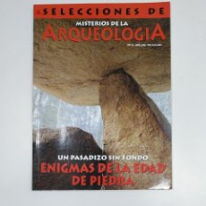 Libros de segunda mano: SELECCIONES MISTERIOS DE LA ARQUEOLOGIA Nº 4. UN PASADIZO SIN FONDO. EDAD DE PIEDRA. TDKR42. Lote 145164654