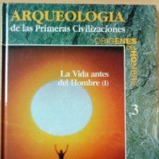 Libros de segunda mano: LA VIDA ANTES DEL HOMBRE; 2 TOMOS. COLECCIÓN ORÍGENES DEL HOMBRE. VV.AA. EDICIONES FOLIO, 1993.. Lote 145227818