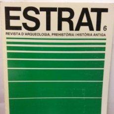 Libros de segunda mano: STQ.ESTRAT.REVISTA D ARQUEOLOGIA,PREHISTORIA I HISTORIA ANTIGUA... Lote 145564554