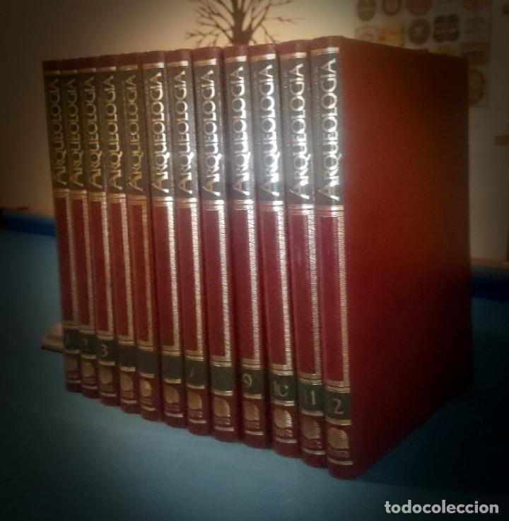 LOS GRANDES DESCUBRIMIENTOS DE LA ARQUEOLOGÍA - 12 TOMOS (Libros de Segunda Mano - Ciencias, Manuales y Oficios - Arqueología)
