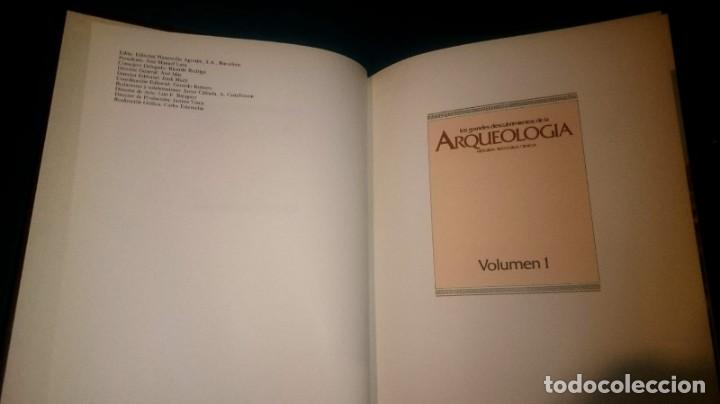Libros de segunda mano: Los grandes descubrimientos de la Arqueología - 12 tomos - Foto 2 - 147617674
