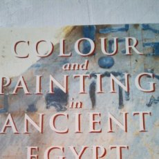 Libros de segunda mano: COLOUR AND PAINTING IN ANCIENT EGYPT - W.V. DAVIES - MUSEO BRITÁNICO - IDIOMA INGLÉS. Lote 147693950