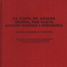 Libros de segunda mano: LA CUEVA DE AMALDA (ZESTOA, PAÍS VASCO) OCUPACIONES PALEOLÍTICAS Y POSTPALEOLÍTICAS. Lote 149844562