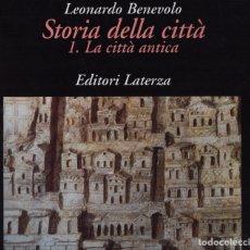 Libros de segunda mano: STORIA DELLA CITTÀ LA CITTÀ ANTICA. Lote 150156433